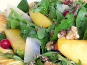 Salade quinoa pêches