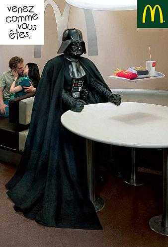 COME AS YOU ARE - DARTH VADER