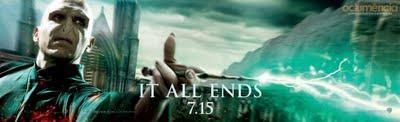 Harry Potter and the Deathly Hallows-part 2 : une dernière fournée de posters et autres bannières