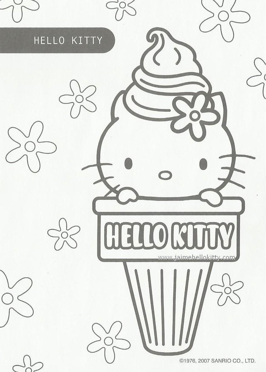 Goodies coloriages hello kitty voir - Coloriage hello kitty en vacances ...