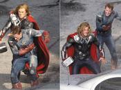 Avengers Captain America Thor battent