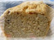Cake saumon,son avoine,tofu fumé