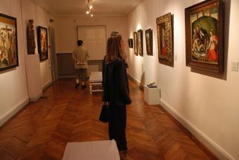 Salle des visites du musée