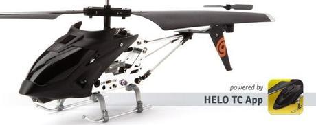 Hélicoptère de jeu contrôlé par l'IPhone Présenté par Griffin