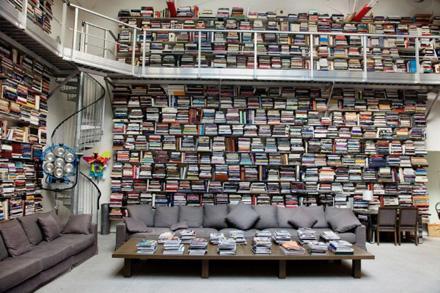 Célébrités Ouvrent La Porte De Leur Bibliothèque À Découvrir - Porte bibliothèque