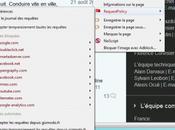 Flicage marketing Facebook, Twitter, Linkedin, Gouv.fr dans même