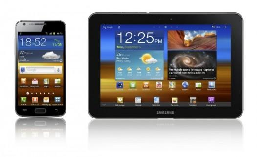 Samsung Galaxy Devices 540x322 Le Samsung Galaxy S II LTE pour les US