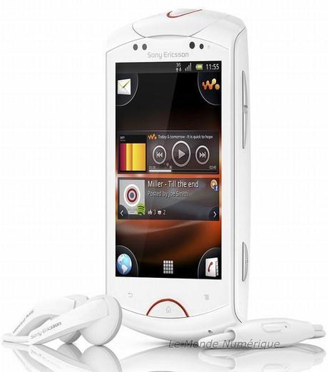 Live With Walkman, le premier smartphone Walkman sous Android par Sony Ericsson