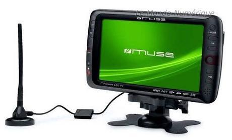 Muse M-109 TV, une télévision mobile multimédia à emporter partout avec soi