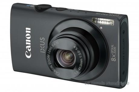 Trois nouveaux appareils photo numériques compacts chez Canon