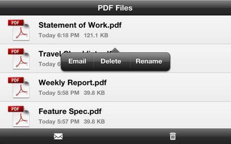 Créez des PDF avec votre appareil iOS