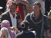 Brad Pitt combat zombies frontière d'Israël