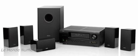 Nouveau système Home Cinéma 3D Denon DHT-1312XP
