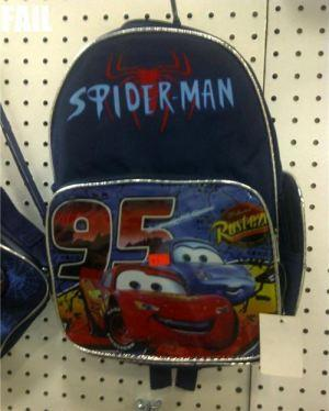 spiderman sac faux chine