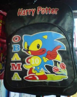 sonic harry potter sac fail faux chine