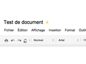 Google Documents nouveau look pour Document texte Feuille calcul