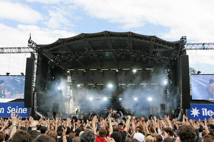 ROCK EN SEINE : DAY ONE