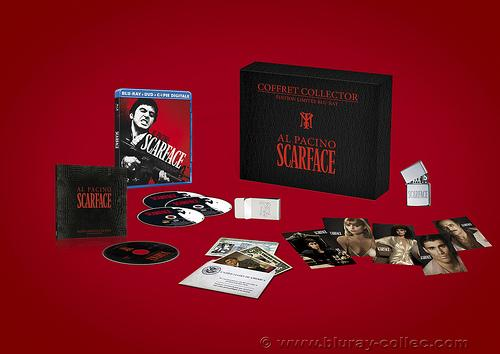 Coffret Scarface collector
