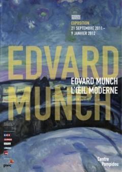 Edward Munch l'œil moderne 1900 1944  au Centre Pompidou
