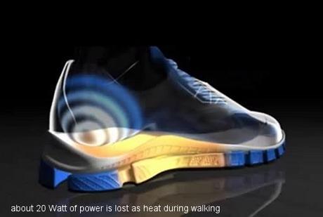 Marchez pour charger votre mobile
