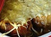 soupe l'oignon gratinée