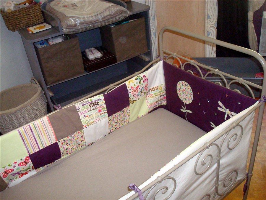 Un tour de lit complet sur mesure très champêtre - Paperblog