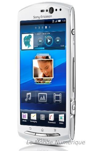 Sony Ericsson kyno V sous Android 2.3.4 avec prise de photos en 3D
