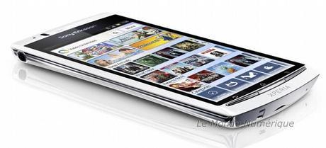 IFA 2011 : Sony Ericsson présente le smartphone Xperia arc S sous Android