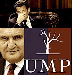 L'UMP est paralysée par la trouille de Sarkozy.