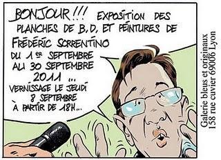 Les expositions BD de la semaine du 5 au 11 septembre 2011