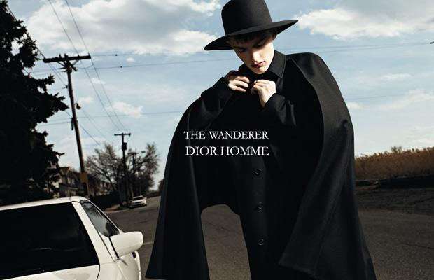 Dior FW11 the Wanderer 01 Dior Homme, The Wanderer