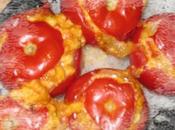 Tomates farcies brousse œufs brouillés
