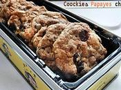 Cookies Papayes Confites Chocolat