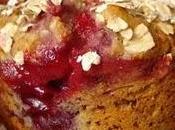 Petits gâteaux d'avoine l'amande fruits rouges