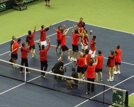Coupe Davis 2011 : la demi-finale France Espagne