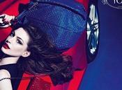 Anne Hathaway égerie pour maroquinerie Tod's.