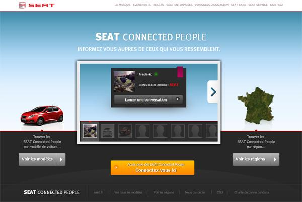 La plateforme SEAT Connected People