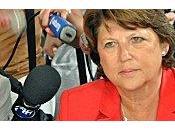 Martine Aubry soutient salariés Florange