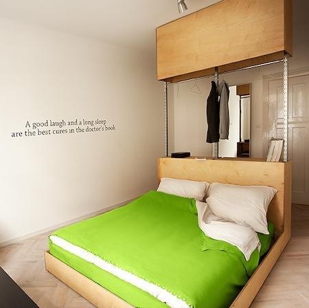 Un bel exemple de décoration minimaliste: le Quotel par l\'agence ...