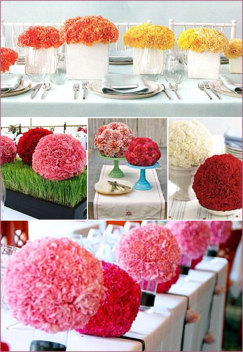 centres de table boule de fleur pour mariage d couvrir. Black Bedroom Furniture Sets. Home Design Ideas