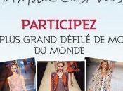 Participez PLUS GRAND DEFILE MODE samedi 17/09 GALERIES LAFAYETTE