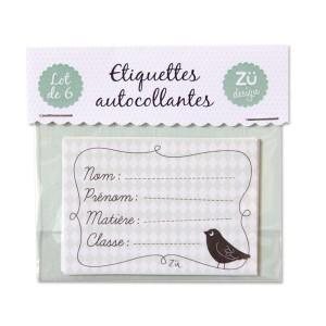 De jolies étiquettes autocollantes pratiques, de beaux petits...