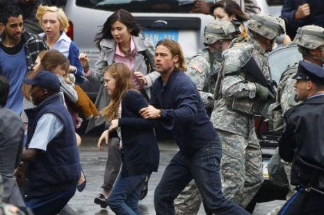 Tournage World War Z