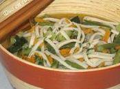Udon petits légumes leur bouillon