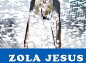 Concours Zola Jesus Holy Strays Point Ephémère septembre