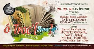 Le Festival Ô Troc'[Tone] ouvre sa billetterie en ligne !