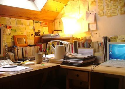 Dans le bureau de Philippe Lafitte