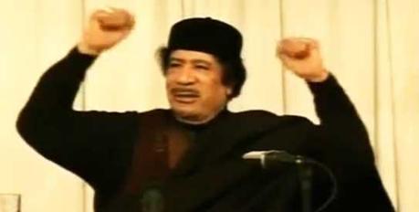 Libye – Discours de Mouammar Kadhafi: compte rendu