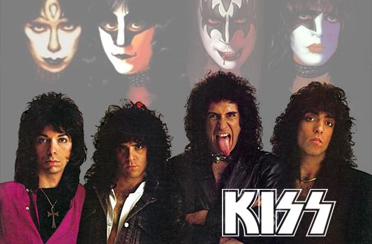Kiss à nu il y a 28 ans