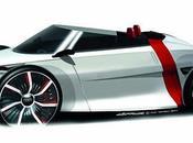 Urban concept citadine électrique biplace Audi